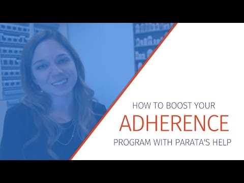 How To Boost Your Adherence Program With Parata's Help