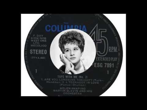 Helen Shapiro - Are You Lonesome Tonight (1962)