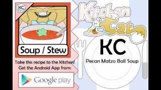Pecan Matzo Ball Soup - Kitchen Cat