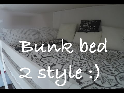How to decorate Bunk Bed, how to Make Stylish Small Bedroom
