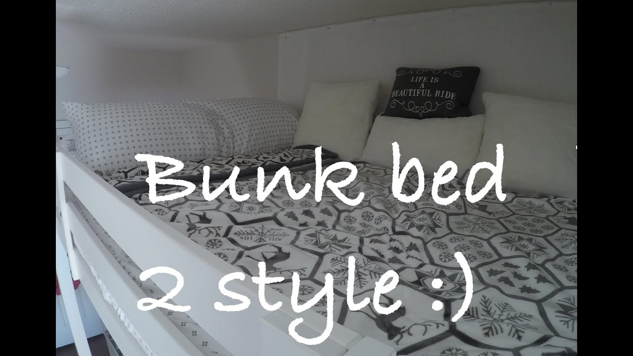 how to decorate bunk bed how to make stylish small make a bunk bed 180 best of youtube