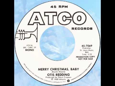 "Otis Redding – ""Merry Christmas Baby"" (Atco) 1968 - YouTube"