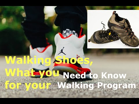 Finding the Right Footwear for Your Walking Program