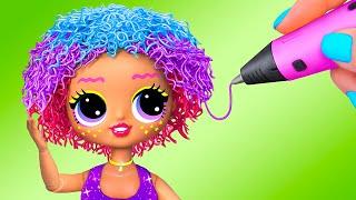 Фото 9 идей для старых кукол Барби и ЛОЛ Сюрприз