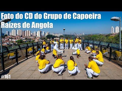 Foto da Capa do CD do Grupo de Capoeira Raízes de Angola