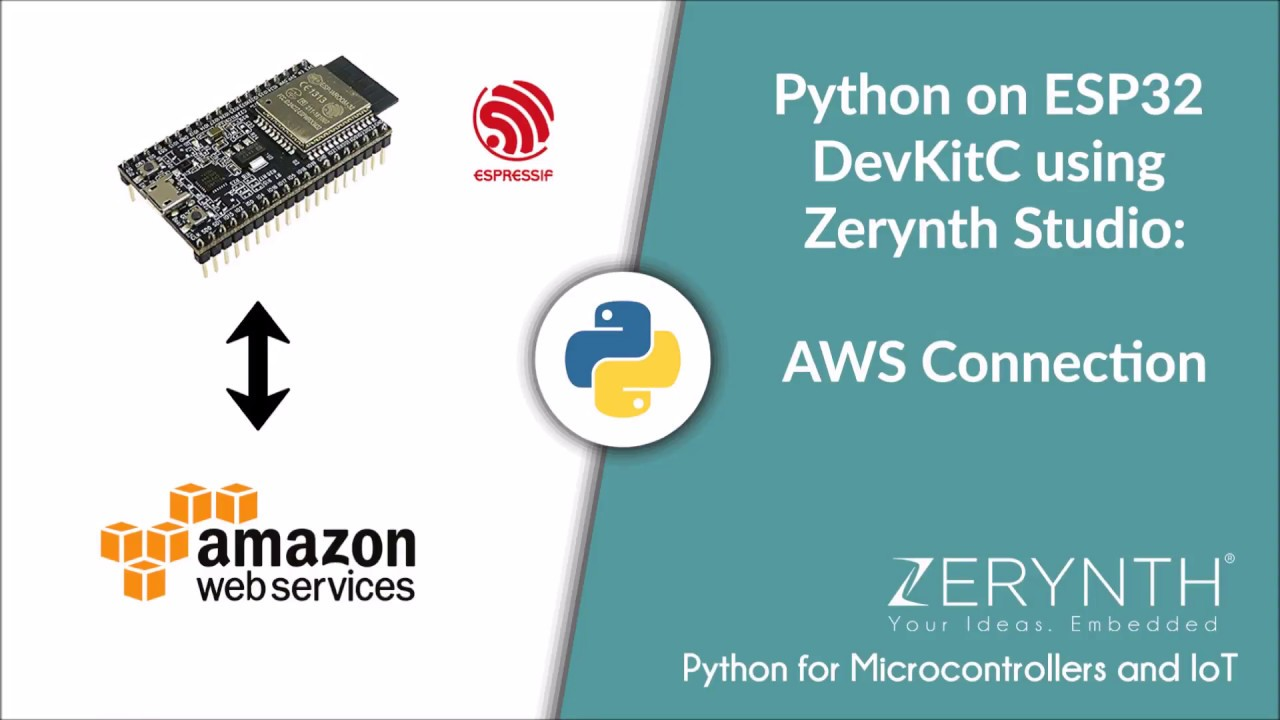 Amazon Web Services IoT Library — Zerynth Docs documentation