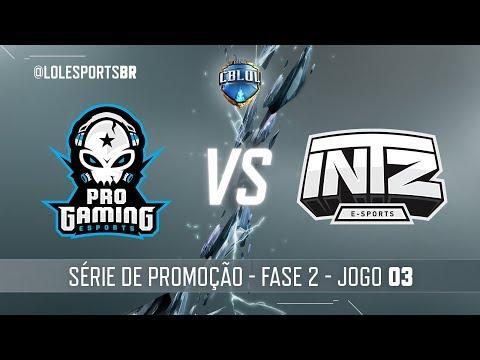 Série de Promoção: ProGaming x INTZ (Jogo 3) | Fase 2 - 2ª Etapa