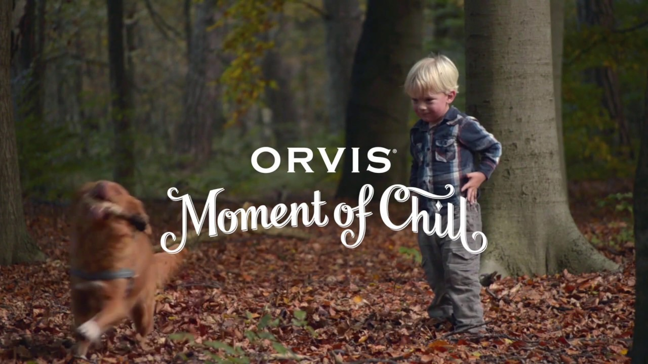 Orvis Moment of Chill: Fall Friends