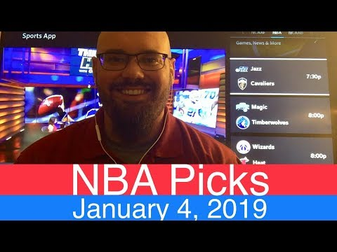 NBA Picks (1-4-19) | Basketball Sports Betting Expert Predictions | Vegas Odds | January 4, 2019