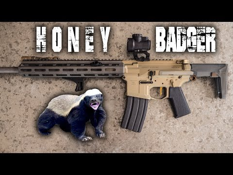 Honey Badger (DON'T CARE!!!)  Rifle Review - by Q