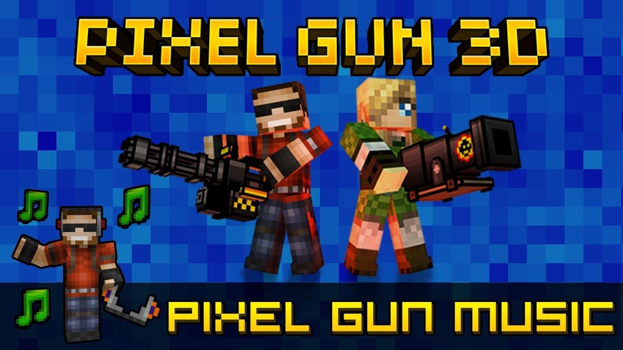pixel gun 3d songs