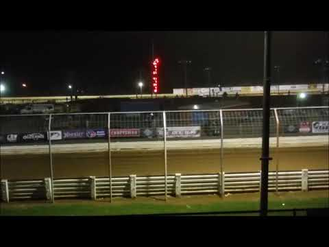 World of Outlaws Late Models Round 40 of 46 50 Laps, $10000 to win. - dirt track racing video image