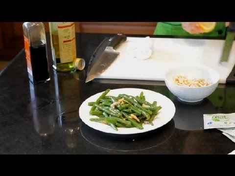 How To Cook Green Beans Fresh From The Garden Clean Foods Healthy Variations Youtube