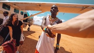 FLYING TO REMOTE LODGE  - Kenya Trip Day 1