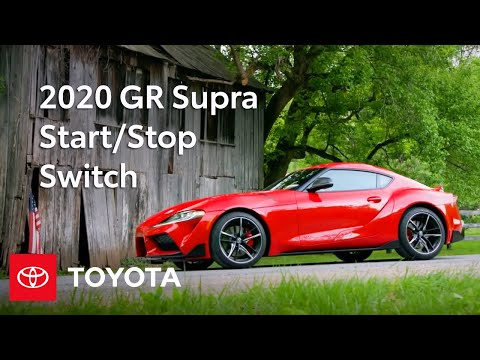 Start/Stop Switch: 2020 Toyota GR Supra Specs & Features | Toyota
