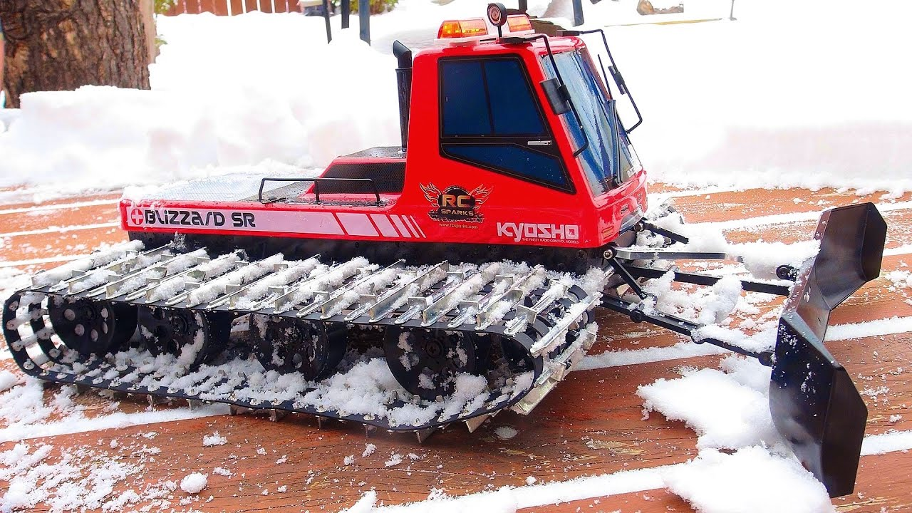 rc snow machine