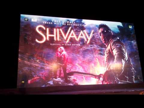 Shivay Movie Trailer Lanch By Ajay Devgen...