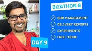 Bizathon 8  ·  Day 9  ·  Free Theme Giveaway & NDR Management