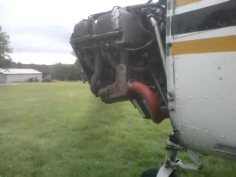 Up close and personal with an O-235 trying to pinpoint an oil leak
