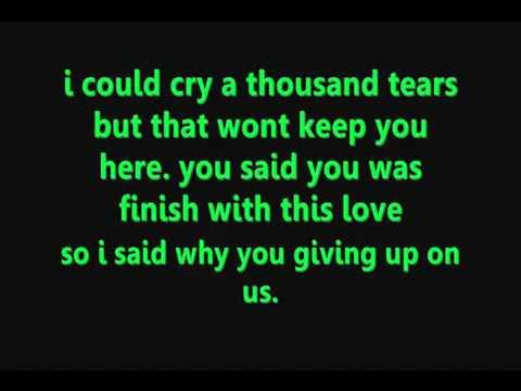 Chris Brown   Last Time Together Lyrics   YouTube