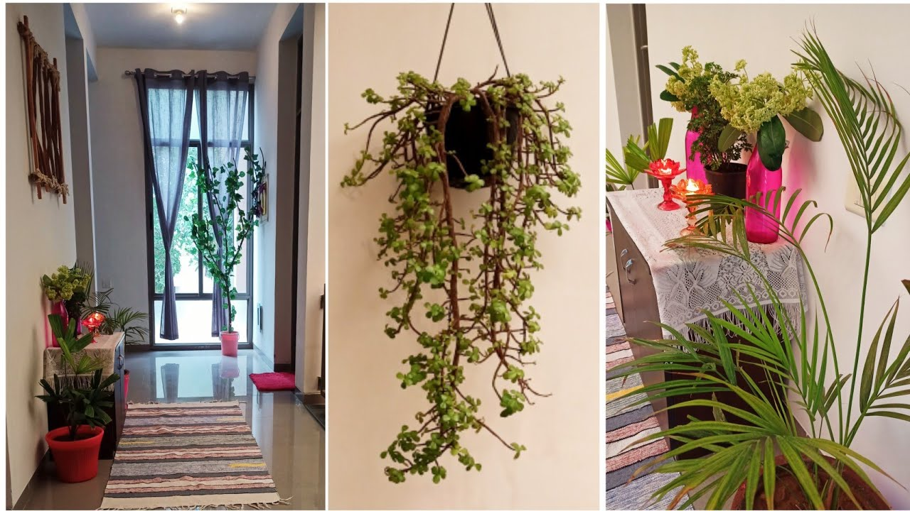 Quick And Easy Entryway Decoration in Only 5 Minutes   Indian Home Entryway Makeover Ideas