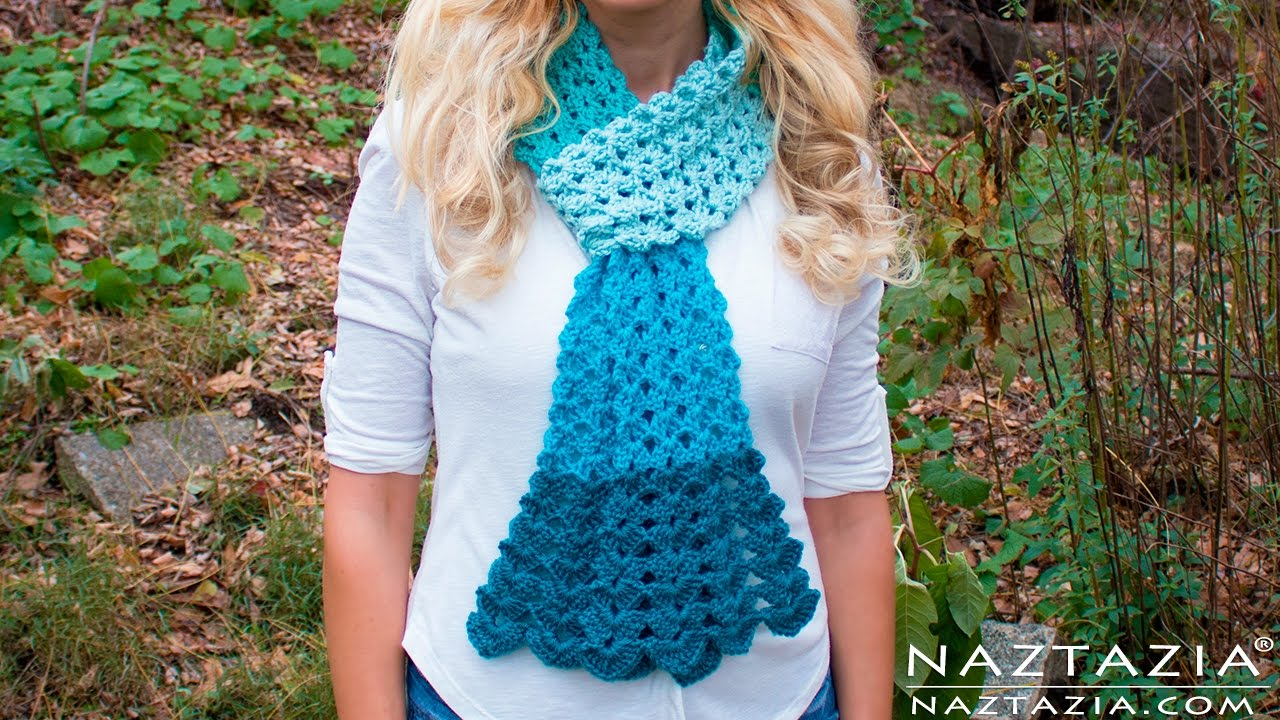 Diy tutorial crochet mermaid tail scarf lace shell stitch lacy diy tutorial crochet mermaid tail scarf lace shell stitch lacy scarf bufanda youtube bankloansurffo Image collections