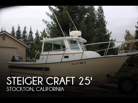 [UNAVAILABLE] Used 2014 Steiger Craft Miami 255DV in Stockton, California