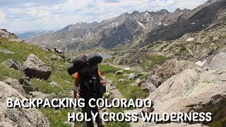 Backpacking Colorado | Holy Cross Wilderness