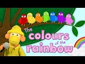 Colors song for children / MUSIC VIDEO FOR KIDS / The Colours of the Rainbow