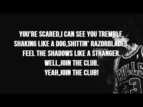Bring Me The Horizon - Join The Club (Lyrics on SCREEN) - Sempiternal *Bonus Track