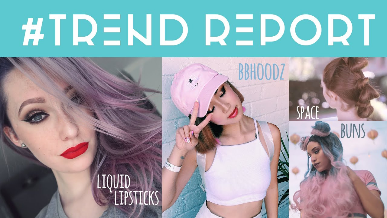 TREND REPORT: Drones, Athleisure, Space Buns + More! - TREND REPORT: Drones, Athleisure, Space Buns + More!