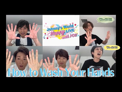 【How to properly wash your hands - English Subtitled Version】〜ARASHI〜
