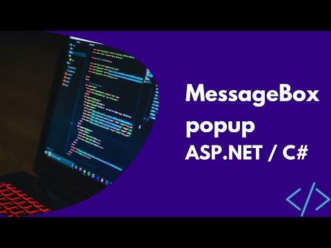 MessageBox popup in Asp.net