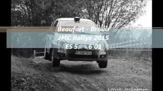 Beaufort-Brouir JMC Rallye 2015 ES5