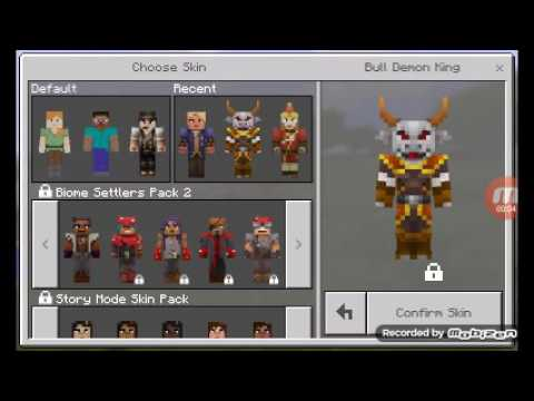 HOW TO HACK SKINS AND TEXTURE PACK ON MINECRAFT PE YouTube - Skins para minecraft pe hacks