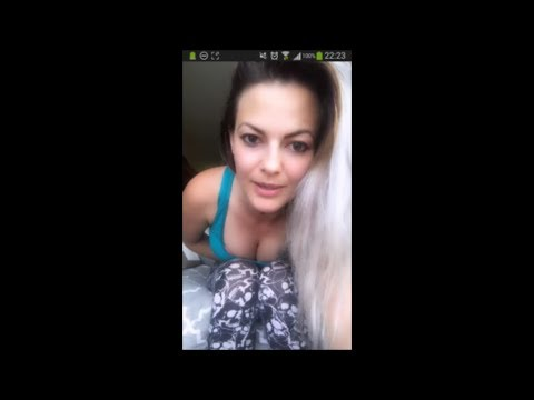Sexy Downblouse Brunette