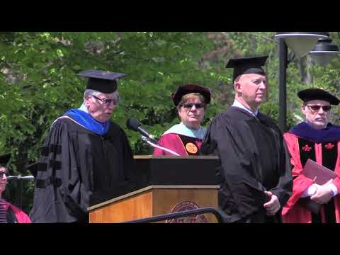 NYPD Commissioner James O'Neill's Commencement Address STAC 2018