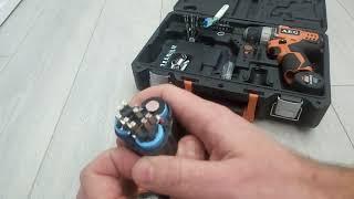 AEG ремонт аккумулятора.