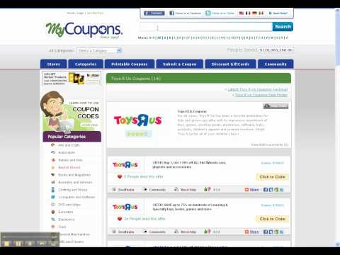 How To Use Toys R Us Coupon Codes