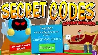 SECRET CANDY CANE CODES IN ROBLOX ICE CREAM SIMULATOR!!