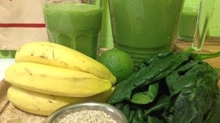 Spinach Banana Smoothie ~ Basic Recipe