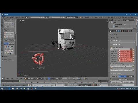 Tutorial Import Base Scs Di Blender