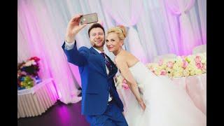 Свадьба Руслана и Алёны 21 августа 2015. Ведущий Андрей Огнев