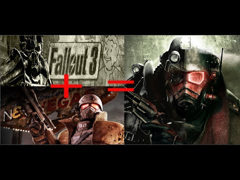 fallout 3 и fallout new vegas теперь одна игра! Установка и обзор  Fallout - A Soul of Fallen Worlds