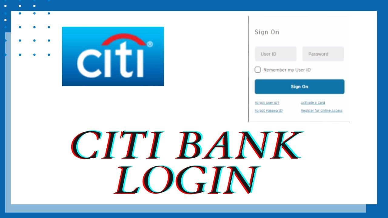 Citi Bank login Sign In Citi Bank Desktop Login 10 Citibank Online Login