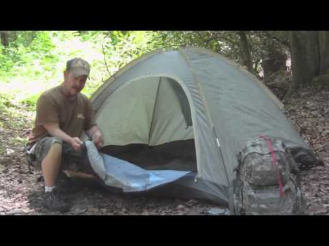 The  Bug out  Tent solution. & The