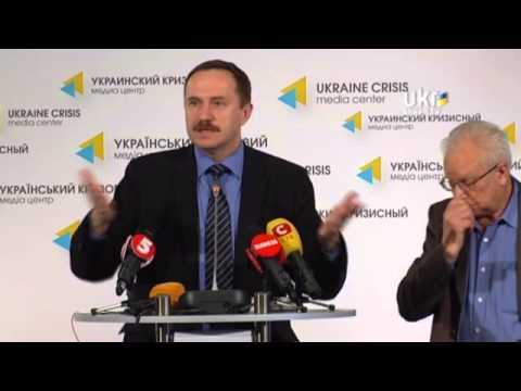 Ihor Koliushko, Volodymyr Vasylenko, Victor Musiyaka. Ukrainian Сrisis Media Center. April 29, 2014