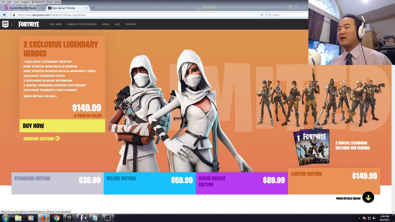 Fortnite Editions Coming Back Lotuscrane Explains Which Edition Of Fortnite Should You Buy Youtube