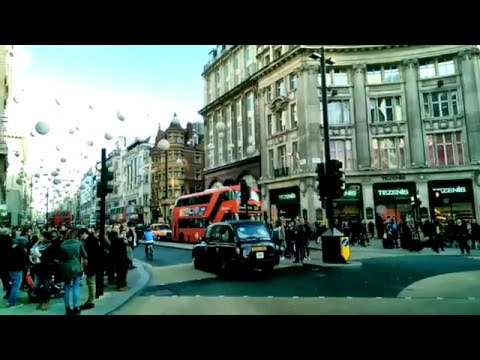 Christmas in London, 2015 (Oxford Street, Oxford Circus, Regent Street, Piccadilly Circus)