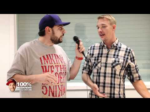 Diplo interview at Power 106 with Dj Vick One.